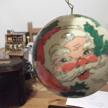 Vintage Santa Clause Christmas Ornament - Christmas