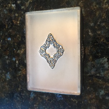 Art Deco Kady's cigarette case