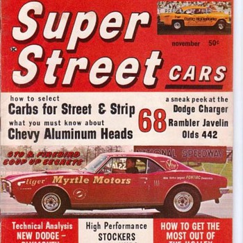 First Editions Modern Rod and Super Street Magazines - Books