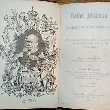 Kaiser William I.,  1 edition By Hermann Lieb
