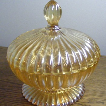 Glass Candy Dish? Any ideas? - Glassware