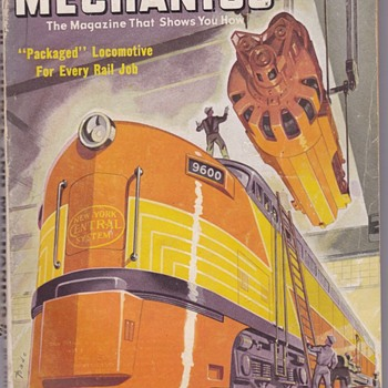 Science and Mechanics Magazine June 1949 - Railroadiana