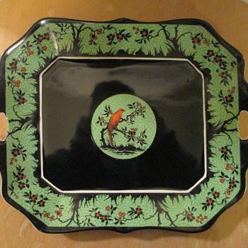 "Wedgwood & Company Porcelain Platter, ""Cardinal"", c1908"