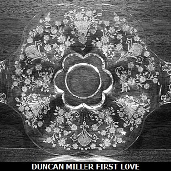 Duncan & Miller Glass 3 Patterns - Glassware