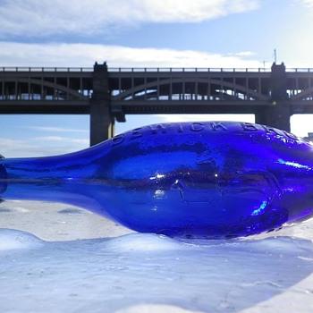 Bewick Brothers Blaydon On Tyne coalt blue hamilton - Bottles