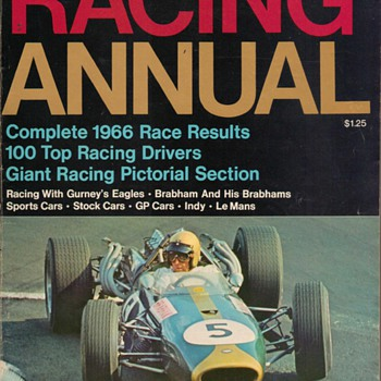 1967 Racing Annual Magazine - Paper