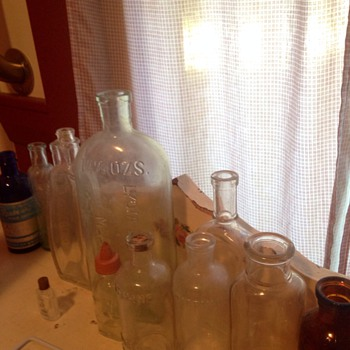 My Vintage Bottles :)