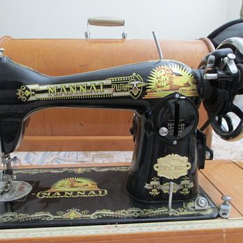 Mannai Sewing Machine. Would Like Information About It.