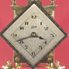 Schatz Diamond Dial 400 Day Clock, 1953
