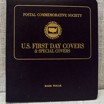 Postal Commemorative Society - First Day Covers and Special Covers Booklet  - Stamps