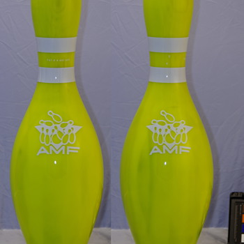 AMF Screaming Yellow Glow Bowling Pin - Sporting Goods