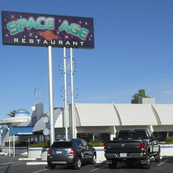 The Space Age Diner Gila Bend AZ - Photographs