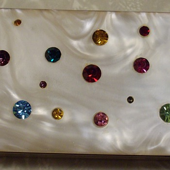 Fab little jeweled box.