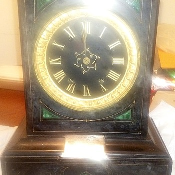Latest clock find