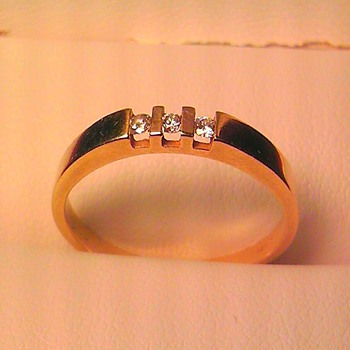 14k and diamond? ring - Fine Jewelry