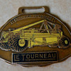 LeTourneau Pull Scraper Certified Operator Enamel Watch Fob