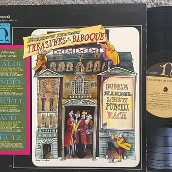 Classical LP Albums Symphony, Theater, Book  Productions in Orignal Sleeves - Music Memorabilia