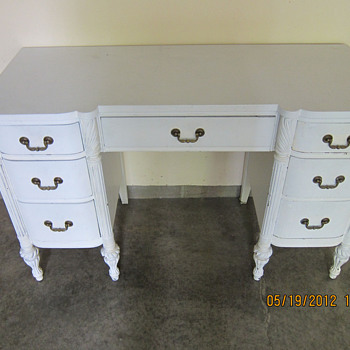 refinished desk - Furniture