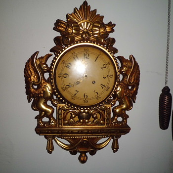 very subtle Westerstrands original  Swedish clock
