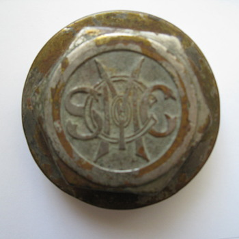 Vintage Hub Cap / Dust Cover - Who is S M C C ?