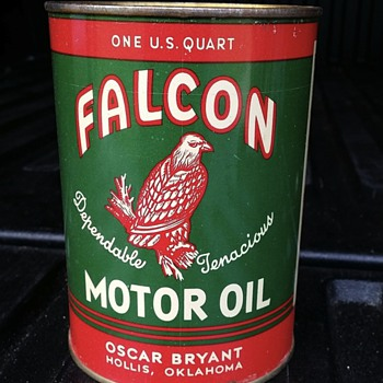 Falcon Motor Oil - Petroliana