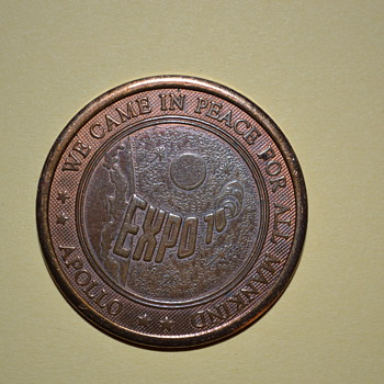 Expo 1970 Osaka:  Apollo Medal - Military and Wartime