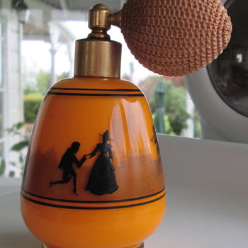 BOHEMIAN/CZECH TANGO PERFUME BOTTLE..HARRACH??