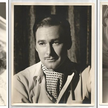 Lot of 11 Original Warner Brothers Publicity Photographs - Photographs