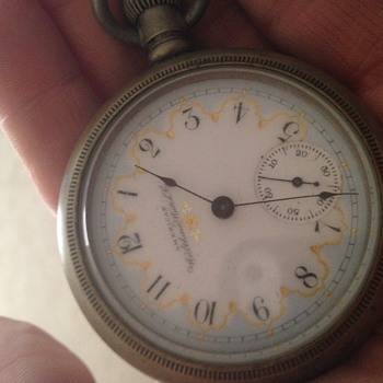Pocket watch found... Need help! - Pocket Watches