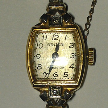 A Gruen watch I found looking for any info. - Wristwatches