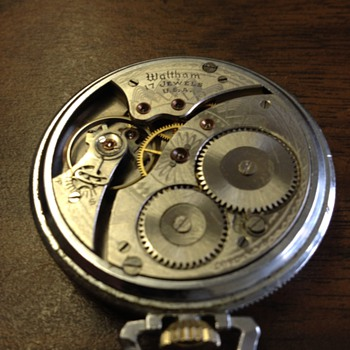 Waltham pocket watch working  - Pocket Watches