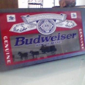 rotating budweiser sign need motor