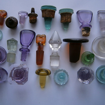 Old bottle caps - Bottles