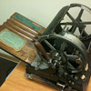 School Mimeograph Machine circa 1917