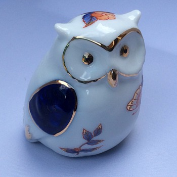 Porcelain owl - Animals