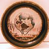 Small vintage tin or ashtray