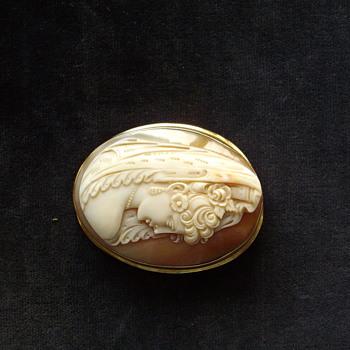 Beautiful Italian Cameo