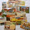Souvenir Postcard Folders