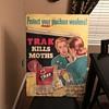 1952 GULF TRAK poster