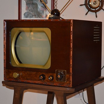 1950 Meck Television - Electronics