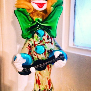 Murano Clown? - Art Glass