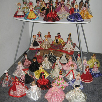 My Blue Bonnet Collection - Dolls of All Lands - Dolls