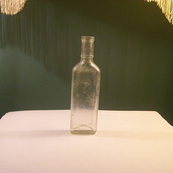 Very Early 1900's Elixir Glass Bottle - Bottles