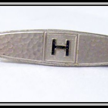 Vintage HICKOK Tie Clip ( Pin ) - Accessories
