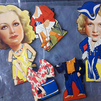 1940&#039;s Paper Dolls? - Dolls