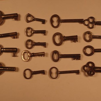 Skeleton Keys 2 of 2 Anything special or significant about them?