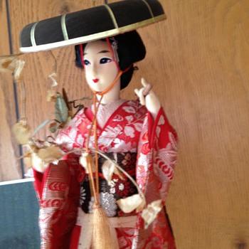 Fujimusumo (spirit of wisteria) - Dolls