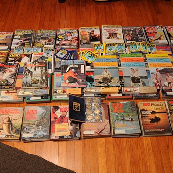 Complete Bassmaster Magazine Collection-PLUS