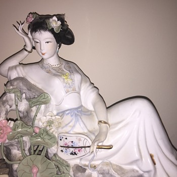 Large and Lovely Asian figurine