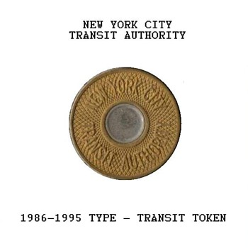 1986 - New York City Transit Token